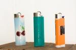 Redwood, Plexiglas, Lighters