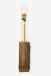 Redwood, Plexiglas, Pencil, Plastic