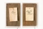 Redwood, Plexiglas, Fans, Paper